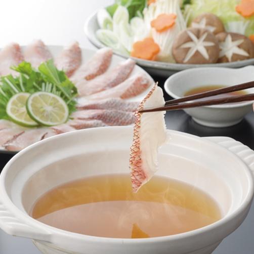 【送料無料】糸島天然真鯛 しゃぶしゃぶセット