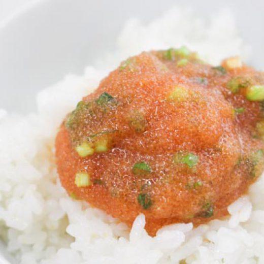 明太子レシピ-ネギ玉めんたいたい
