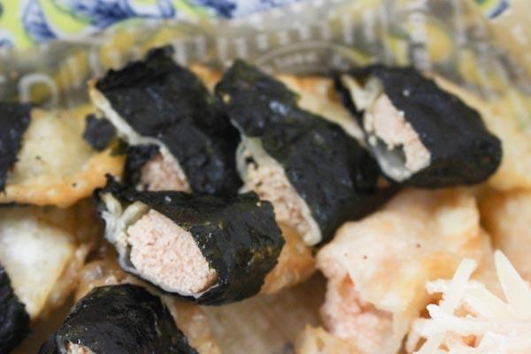明太子レシピ-とろけるチーズと明太の餃子包み揚げ