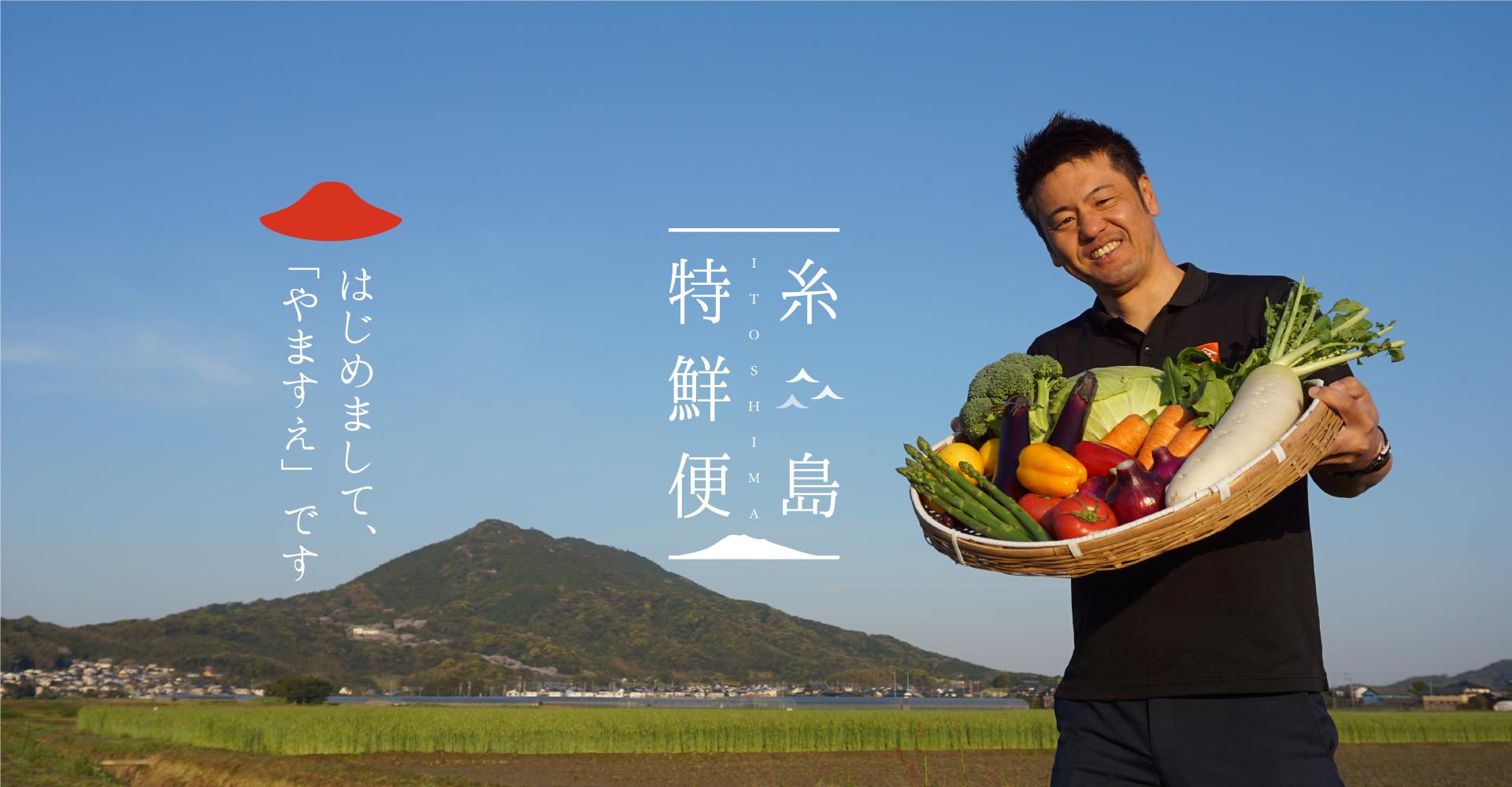 糸島特鮮便 糸島の新鮮食材をお届けします